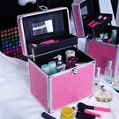 限定款化妝箱 大號化妝包大容量雙層便攜化...