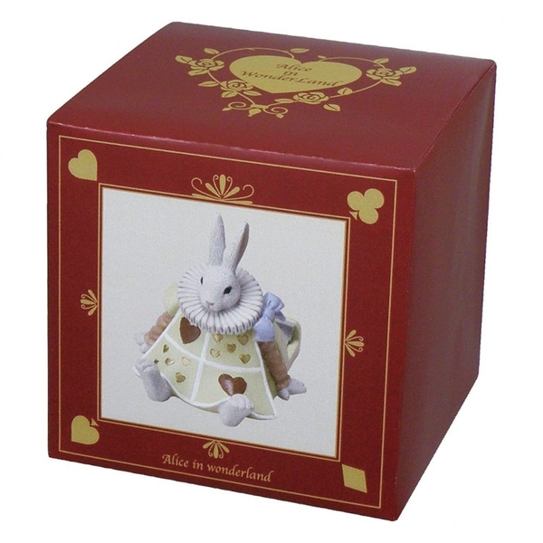 SETO CRAFT 迷你手機座 手機架 愛麗絲夢遊仙境 兔子先生_OC09534