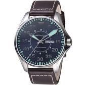 HAMILTON 漢米爾頓 卡其飛行先鋒80小時機械腕錶   H64715545