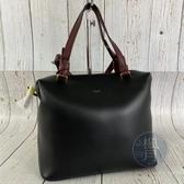 BRAND楓月 CELINE 181613A4S 黑色 皮革 SOFT CUBE 小款 手提包 肩背包 側背包