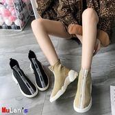 襪靴 襪子鞋 高幫鞋 休閒 運動 短靴