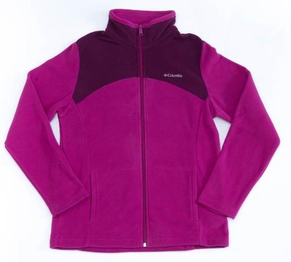 Columbia 女 保暖刷毛外套 紫色 UAR04950PL【GO WILD】