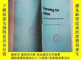 二手書博民逛書店【館藏書】Learning罕見to listenY8791