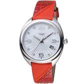 芬迪 FENDI Momento系列放射紋飾腕錶     F217034573D1