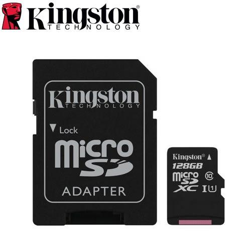 Kingston金士頓 microSDXC UHS-I 記憶卡 128GB