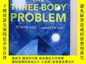 二手書博民逛書店The罕見Three-Body Problem 三體(英語)劉慈欣簽名Y18175 Cixin Liu (作者