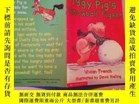 二手書博民逛書店Lggy罕見Pig s Snowball Fight【實物拍圖】
