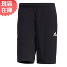 【現貨】ADIDAS FUTURE 男裝 短褲 慢跑 訓練 口袋 黑【運動世界】GP0945