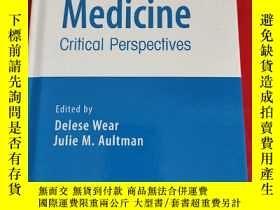 二手書博民逛書店Professionalism罕見in Medicine - Critical Perspectives (小16
