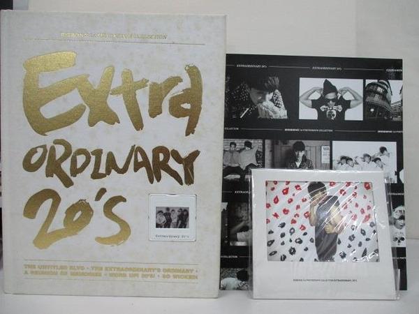 【書寶二手書T1/寫真集_EHL】BIGBANG Extraordinary 20 s 寫真書