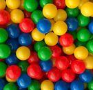 *粉粉寶貝*台灣製~球池球屋遊戲塑膠彩球~1600顆6公分空心塑膠球~彩色軟球~球池球~海洋球/波波球