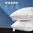 唐獅枕頭枕芯一對酒店家用睡覺護頸椎枕男女單人雙人學生宿舍整頭 青木鋪子「快速出貨」