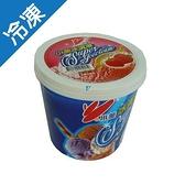 小美冰淇淋-草莓1L(520G)/桶【愛買冷凍】