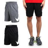 NIKE 男針織短褲 (五分褲 運動短褲 訓練 慢跑 路跑 免運 ≡排汗專家≡