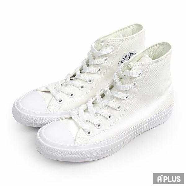 CONVERSE 男 CHUCK II 白高 帆布鞋(高統) - 150148C