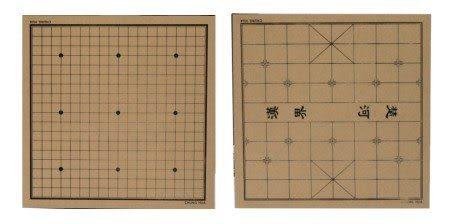 O-H1 棋盤-象棋+圍棋(雙面) /片 ( 請勿選超商取貨,材積過大 )