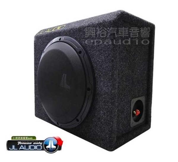 【JL】10吋車用重低音喇叭+音箱10WXv2-4 *4歐姆 10WXv2