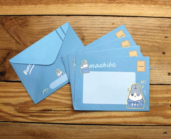 ㄇㄚˊ幾兔西式信封(咕幾和ㄇㄚˊ幾)18002 麻吉兔【金玉堂文具】
