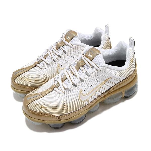 【五折特賣】Nike 慢跑鞋 Wmns Air Vapormax 360 白 金 女鞋 運動鞋 大氣墊 【ACS】 CK9670-101