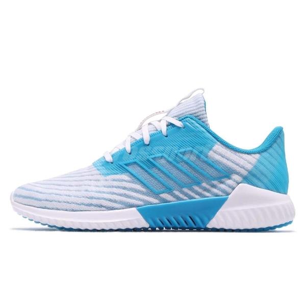 adidas 慢跑鞋 Climacool 2.0 藍 白 透氣 運動鞋 男鞋 【ACS】 B75874