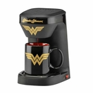 DC Wonder Woman 單人咖啡機 - 神力女超人 DCW-123CN 附12盎司馬克杯 [2美國直購]