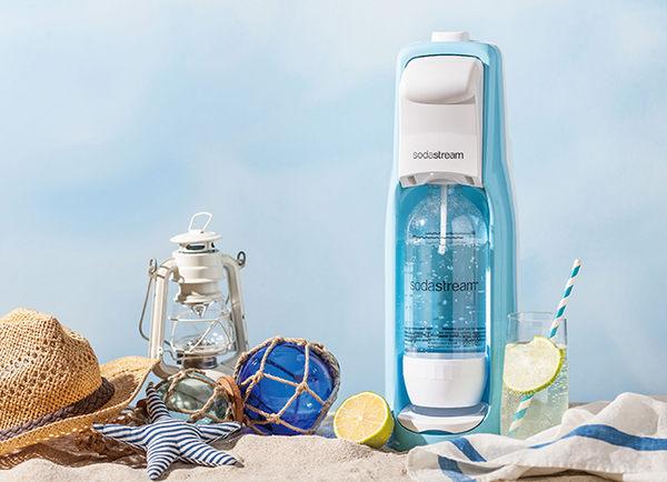 (公司貨現貨)Sodastream Jet氣泡水機/海洋微風/雞尾酒/露營/party/魔法瓶/內含主機+鋼瓶+保特瓶
