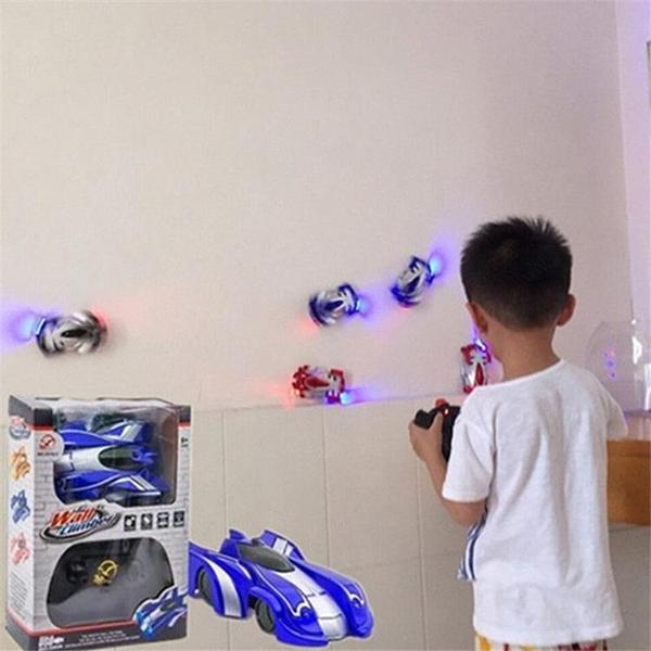 爬墻車遙控汽車上墻特技吸墻兒童玩具男孩4-12歲可充電動遙控賽車 酷男精品館