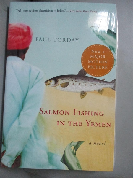 【書寶二手書T6/原文小說_NKA】Salmon Fishing in the Yemen_Torday, Paul