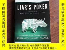 二手書博民逛書店Liar`s罕見Poker: Rising through th