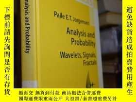 二手書博民逛書店Analysis罕見and Probability : Wave