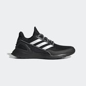 ADIDAS RapidaRun KNIT J [EE7638] 大童鞋 運動 慢跑 緩震 舒適 透氣 愛迪達 黑白