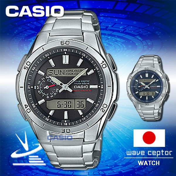 CASIO卡西歐 手錶專賣店 男錶 G-SHOCK WVA-M650D-1AJF 男錶 電波錶  日系 樹脂玻璃 太陽能 不鏽鋼錶帶