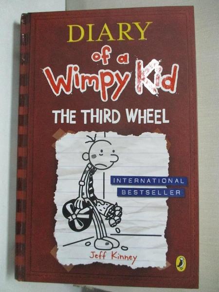 【書寶二手書T2/原文小說_GI2】Diary of a Wimpy Kid: The Third Wheel_Jeff Kinney