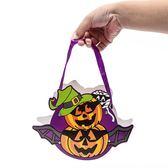 【BlueCat】萬聖節DIY帥氣緞帶手提糖果袋 禮物袋