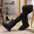 [Here Shoes]3色 防潑水皮革...