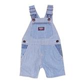 OSHKOSH 牛仔吊帶短褲 深藍直條 | 男寶寶吊帶褲(嬰幼兒/小孩/baby)