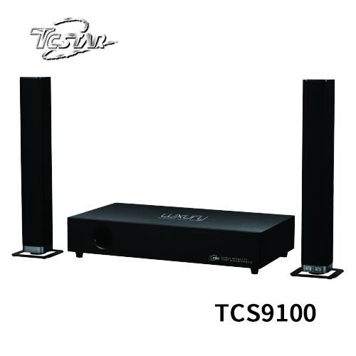 T.C.STAR TCS9100 可分離式藍牙/光纖/HDMI環繞劇院2.1喇叭