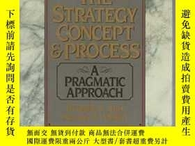 二手書博民逛書店The罕見Strategy Concept And Process: A Pragmatic Approach-戰