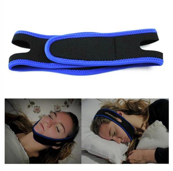 止鼾器 防下巴脫臼繃帶防張口呼吸止鼾帶防打鼾打呼嚕下巴托帶阻鼾器 玩趣3C