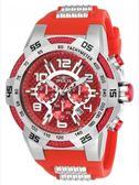瑞士INVICTA手錶-Speedway賽道系列 紅色碳纖維錶盤 三眼腕錶 24230瑞士錶 男士手錶 英威塔男錶