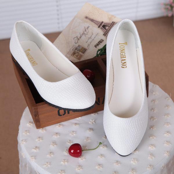 淺口舒適平底女鞋