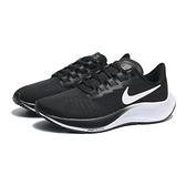 NIKE 慢跑鞋 ZOOM PEGASUS 37 黑白 漸層底 網布 女 (布魯克林) BQ9647-002