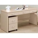 書桌 電腦桌 AT-227-3 白橡5尺...