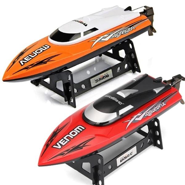 遙控船 玩具船快艇輪船模型高速成人男孩兒童超大水上充電動船【星時代生活館】jy