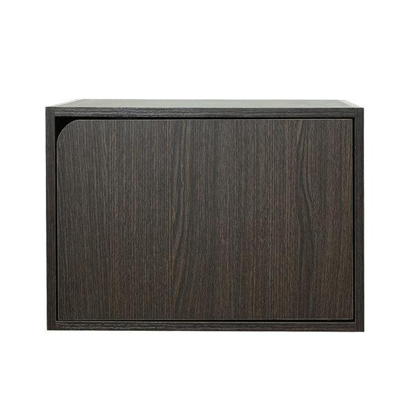 空櫃 收納櫃 木門櫃-附門-3入組