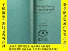 二手書博民逛書店The罕見Scholarship of Teaching and Learning ReconsideredY