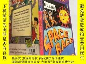 二手書博民逛書店space罕見race the spark files 太空競賽火花文件Y200392