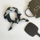 chic小方巾絲巾女百搭韓國裝飾文藝小領巾ins復古小圍巾 黛尼時尚精品
