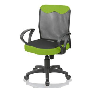 好室家居 低背D扶手電腦椅辦公椅(三色任選)綠
