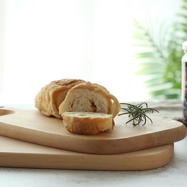 櫸木砧板 大號創意烘培面板木托切甜點蛋糕板實木菜